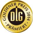 2014年ドイツ農業振興協会<br>品質競技会 金賞受賞商品
